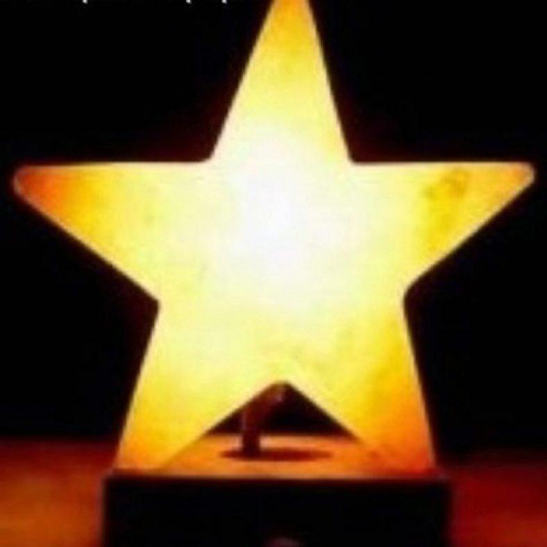 фото Лампа солевая ZENET Звезда