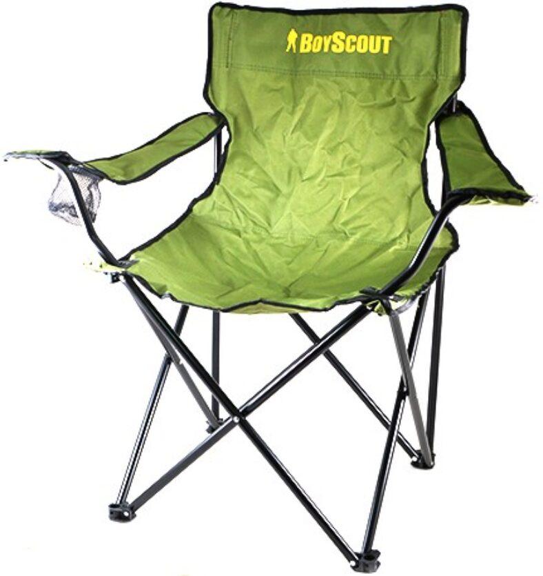 фото Кресло кемпинговое раскладное с подлокотниками BOYSCOUT в чехле