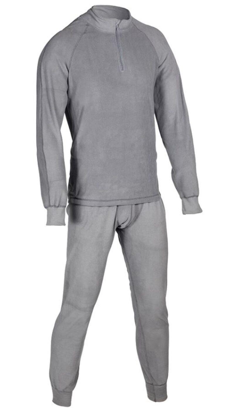 фото Комплект термобелья Huntsman H-100-zip. Цвет: серый