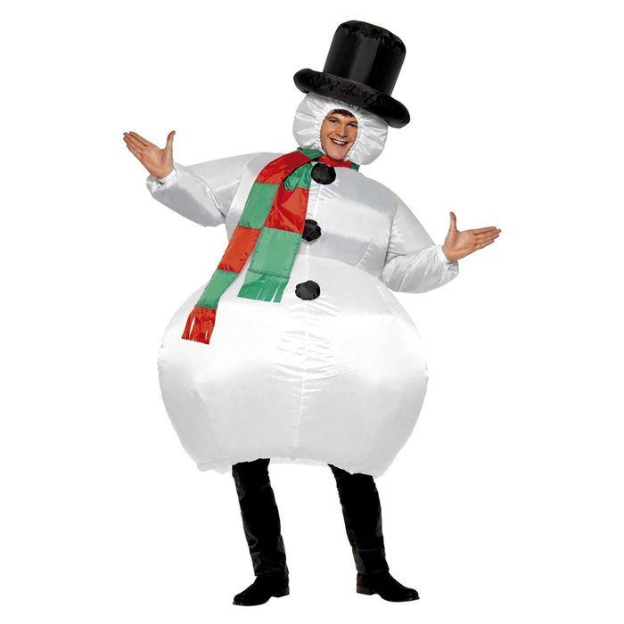 фото Костюм надувной Просто-Полезно «Снеговик»