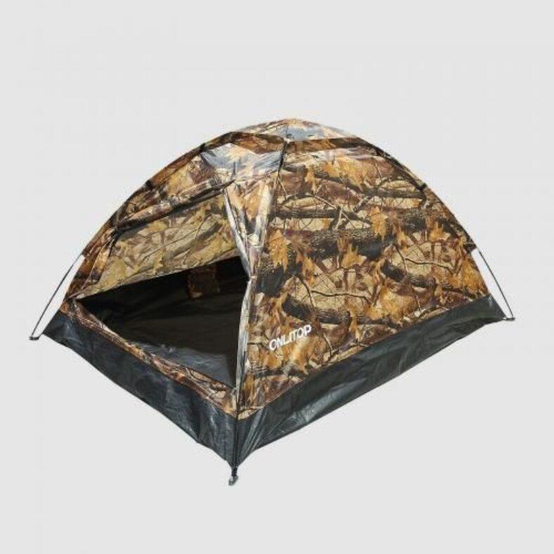 Двухместная палатка «Тандем» (лесной принт) - фото №1
