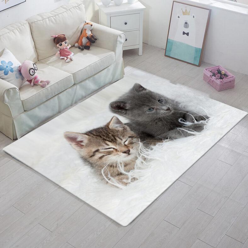 фото Ковер ТамиТекс «Два котенка»