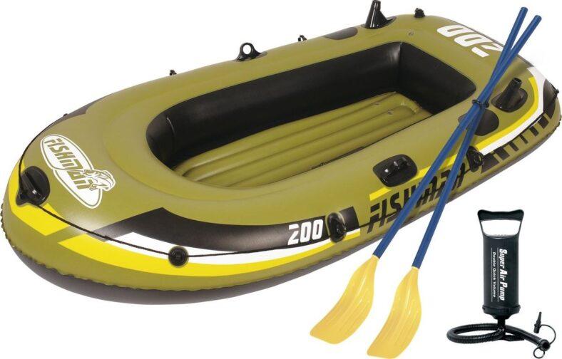 фото Лодка надувная Jilong Fishman 200 Set