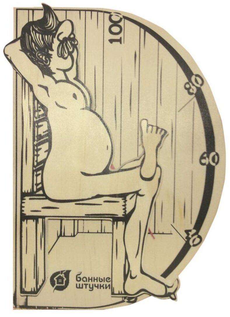 фото Термометр для бани и сауны Банные штучки «В здоровом теле-здоровый дух»