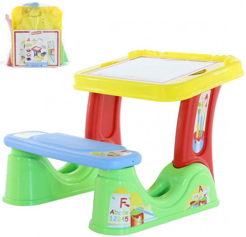 фото Парта со скамейкой Palau Toys «Набор дошкольника»