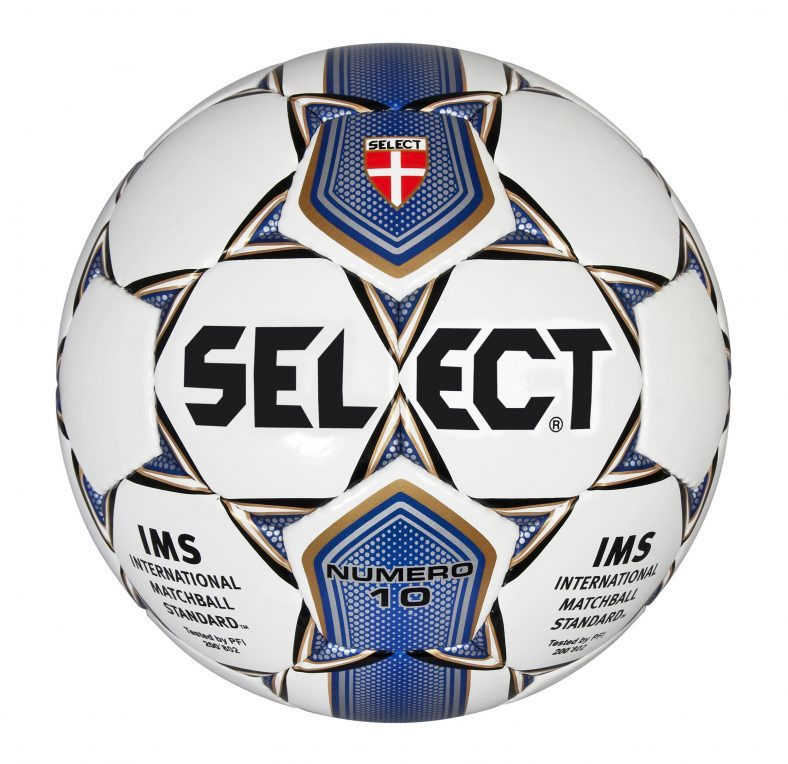 фото Мяч футбольный Select Number 10 IMS