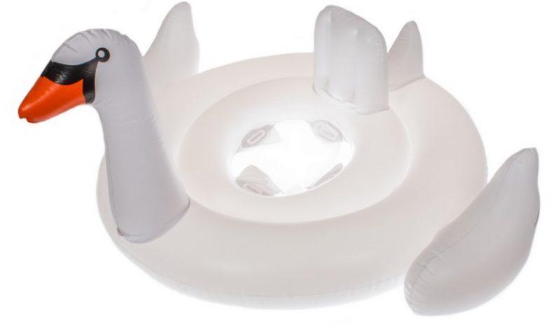 фото Игрушка надувная для плавания Bradex «Лебедь»
