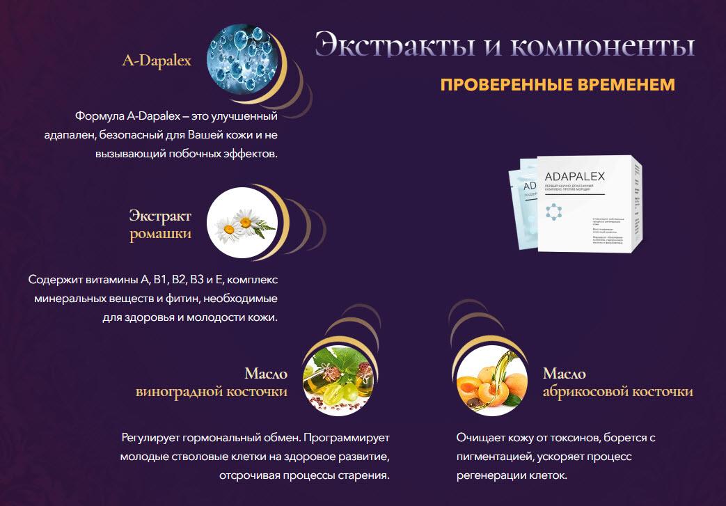 Состав средства адапалекс