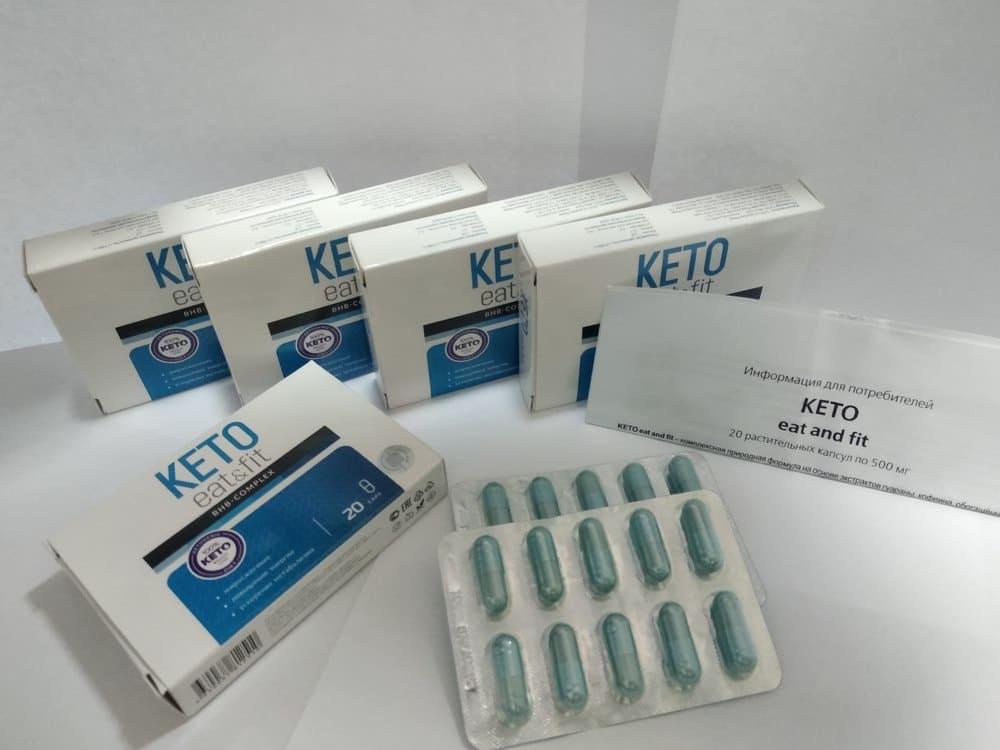 Внешний вид препарата Keto Eat&Fit