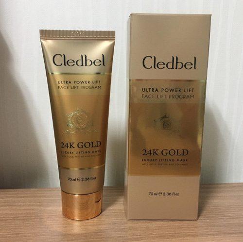 ? CLEDBEL 24K GOLD (КледбелГолд) маска для лица – реальные отзывы, купить в аптеке, цена, развод или нет