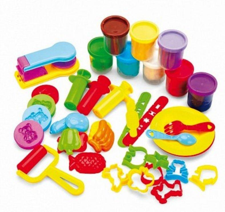 фото Набор для лепки: пластилин, формочки и штампы Bradex «Креативный пластилин»