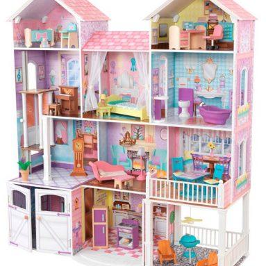 Кукольный дом с аксессуарами KidKraft «Загородная усадьба»