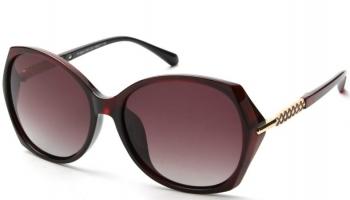 Солнцезащитные очки Laura Amatti «Мистика». Цвет: коричневый