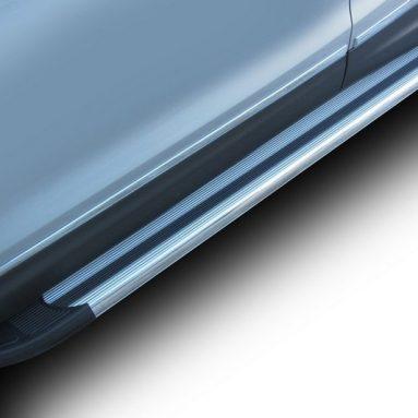 Комплект защиты штатных порогов Arbori Luxe 1700 для Nissan Qashqai, 2014
