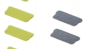 Комплект накладок для швабры-скребка с распылителем Rovus «Плюс»