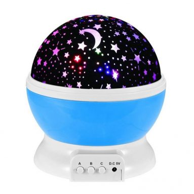 Проектор лазерный Star Master Dream Rotating Projection Lamp