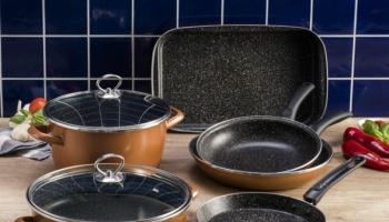 Набор кухонной посуды Delimano «Сила Камня» Люкс