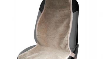 Накидка на сиденье автомобиля «Меховая»