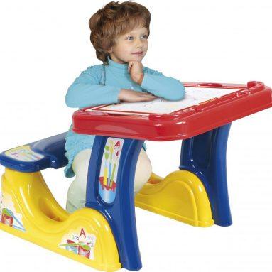 Парта со скамейкой Palau Toys «Набор дошкольника»
