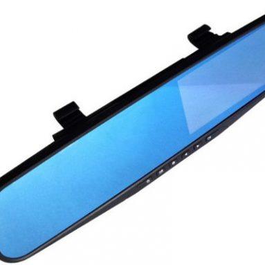 Видеорегистратор в зеркале заднего вида Vehicle Blackbox