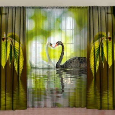 Комплект фотоштор с тюлем ТамиТекс «Верность любви»