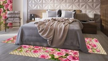 Набор ковров «Розовый сад»