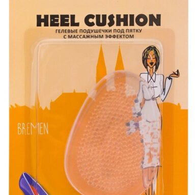 Вкладыши гелевые под пятку с массажным эффектом Gess Heel Cushion