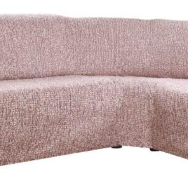 Натяжной чехол на угловой диван Еврочехол «Тела Пианта»