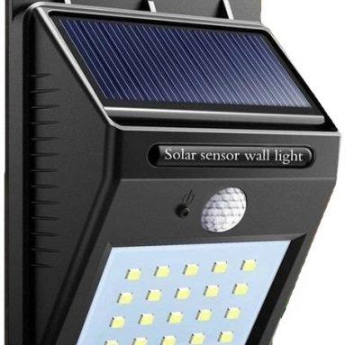 Фонарь светодионый на солнечной батарее