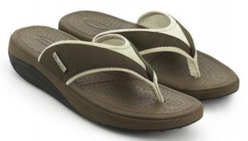 Сланцы мужские Walkmaxx Flip Flop. Цвет: коричневый