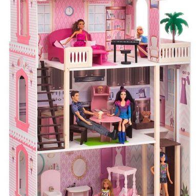Дом интерактивный кукольный с мебелью PAREMO «Венеция-Джулия»