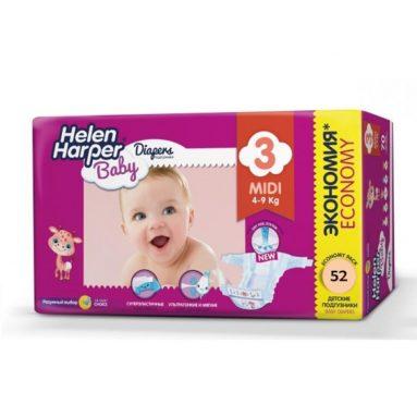 Подгузники Helen Harper Baby 3 Midi (4-9 кг)