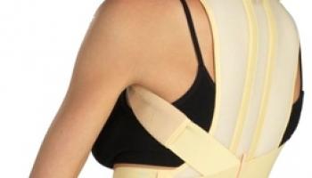 Корректор осанки медицинский эластичный Tonus Elast для нижнего грудного и поясничного отделов позвоночника 0109-01
