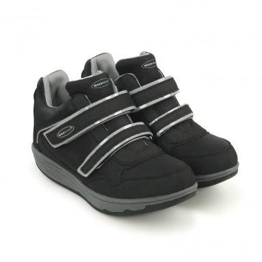 Кроссовки адаптивные женские Walkmaxx Wedge. Цвет: черный