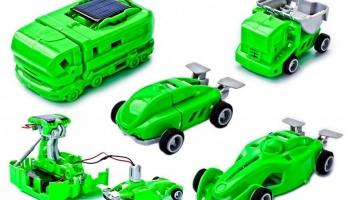 Игрушка-трансформер интерактивная Bradex 7 в 1 с электростанцией