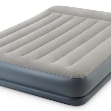 Кровать-матрас надувная Intex Queen Mid-Rise Airbed With Fiber-Tech Bip 64118