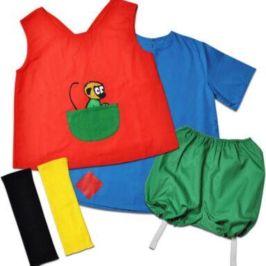 Карнавальный костюм для девочки Micki «Пеппи ДлинныйЧулок»