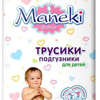 Подгузники-трусики Manuoki Maneki (6-11 кг)