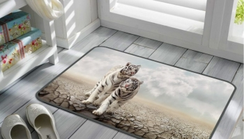 Ковер ТамиТекс «Белые тигры»