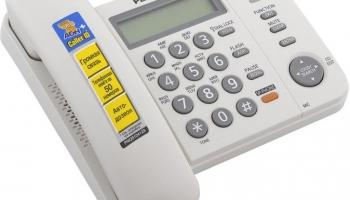 Телефон Panasonic KX TS 2358 RUW