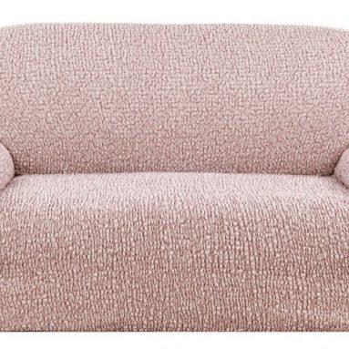 Натяжной чехол на двухместный диван Еврочехол «Тела Пианта»