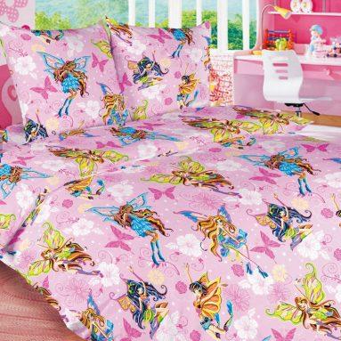 Детский комплект постельного белья Бамбино «Волшебницы»